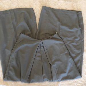 Pants - Wide leg grey pants